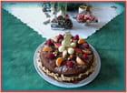 Gâteau maison pour un goûter entre vieilles dames après une réunion