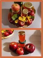 Gelée de pommes au cidre doux de Normandie