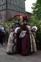 Gerberoy,costumes vénitiens