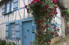 Gerberoy,fête de la rose