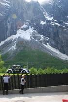glacier de Norvège
