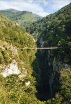 La passerelle et les gorges d'Holzarté, La Soule, Pays Basque