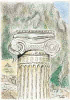 Grèce - le site de delphes