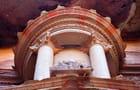 Gros plan sur l'urne du khazneh