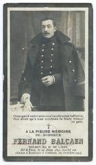 Guerre 14-18 - Héros morts au champ d'honneur - Fernand Balcaen