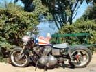 Harley à Saint-Tropez