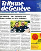 Harold Lecuyer plus jeune copilote de Rallye de France