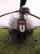 "Hélicoptère type ""gazelle""."