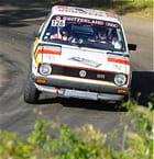 Hervé Lecuyer Harold Lecuyer Golf GTI Rallye