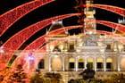 Hôtel de Ville de Saïgon pendant le tet (nouvel an vietnamien)