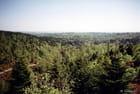 Huelgoat : vue panoramique depuis le camp romain.