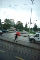 il pleut sur Zagreb