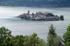 île San Giulio sur le Lac d'Orta