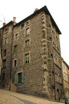 Immeuble en pierres de lave