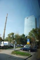 immeuble moderne à Zagreb