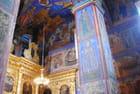intérieur d'église du prophète Eli de Yaroslavl