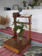 Intérieur d'une chapelle
