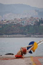 Izmir, les immeubles face à la mer
