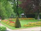 Jardin du chateau à Eu
