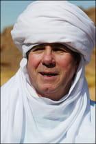 Jean-Louis Debré dans le tassili algerien