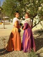 Jessie et Emilie (Aureille)