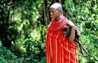 Jeune fille Samburu et son mouton
