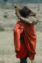 Jeune guerrier Masaï