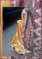 Jeune Indienne en sari