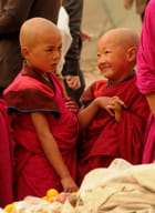 Jeunes moines...