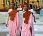 jeunes nonnes bouddhistes