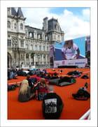 Jeux Olympiques 2012 suivis tout confort à l'Hôtel-de-Ville de Paris...