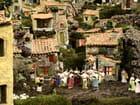 Joie de Noël dans un village provençal