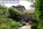 Joli jardin d'une artiste peintre en Normandie