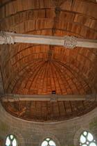 Journée du patrimoine au château de Kerjean, plafond