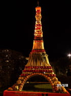 Journées d'octobre - La Tour Eiffel en légumes