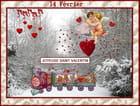 Joyeuse fête de St Valentin à toutes et à tous