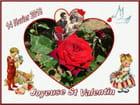 Joyeuse St Valentin à toutes et à tous