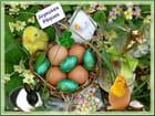 Joyeuses fêtes de Pâques à tous et à toutes