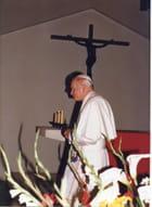 JP II LE 6 10 1986 AU CARMEL D'ARS PH JC GUERGUY