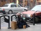 Kyoto : un moine-mendiant japonais