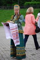 l'accueil Russe la cérémonie du pain et du sel
