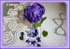 L'amour est un bouquet de violettes ...