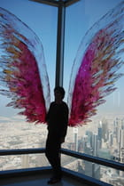 l'ange de la tour Burj Khalifa