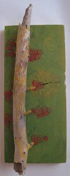 L'arbre aux fleurs rouges