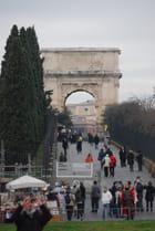 l'arc de triomphe de Constantin
