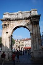 l'arc de Triomphe Sergius