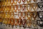 l'artisanat Russe, les colliers d'ambre
