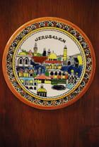 l'assiette souvenir de Jérusalem