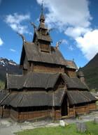 l'église en bois debout de Borgund