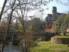 L'église et le pont de st. céneri